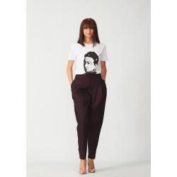 Cotton banana trousers
