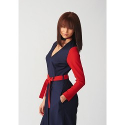 Tailor-made wool jumpsuit