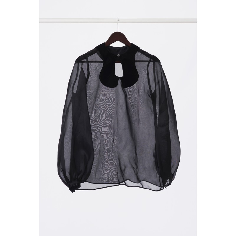 Elegant silk shirt